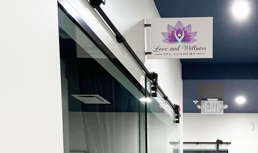 Love and Wellness Spa Academy Storefront
